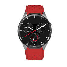 Smartch KW88 Smart Watch Android 5.1 OS With 2.0 mega Pixel Camera 1.39 inch Amoled Round Screen 512MB+4GB 3G WCDMA/WIFI