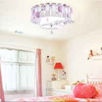 July K9 Crystal Lamp To Absorb Dome Light PP Bedroom Lamp FG947 Lo1025