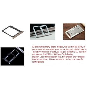 Image 5 - 2 Nano Micro Mini SIM Slot Adapter voor Meizu Huawei Xiaomi Redmi Hybride Dubbele Dual Sim kaart + Micro SD TF Card Adapter Extender