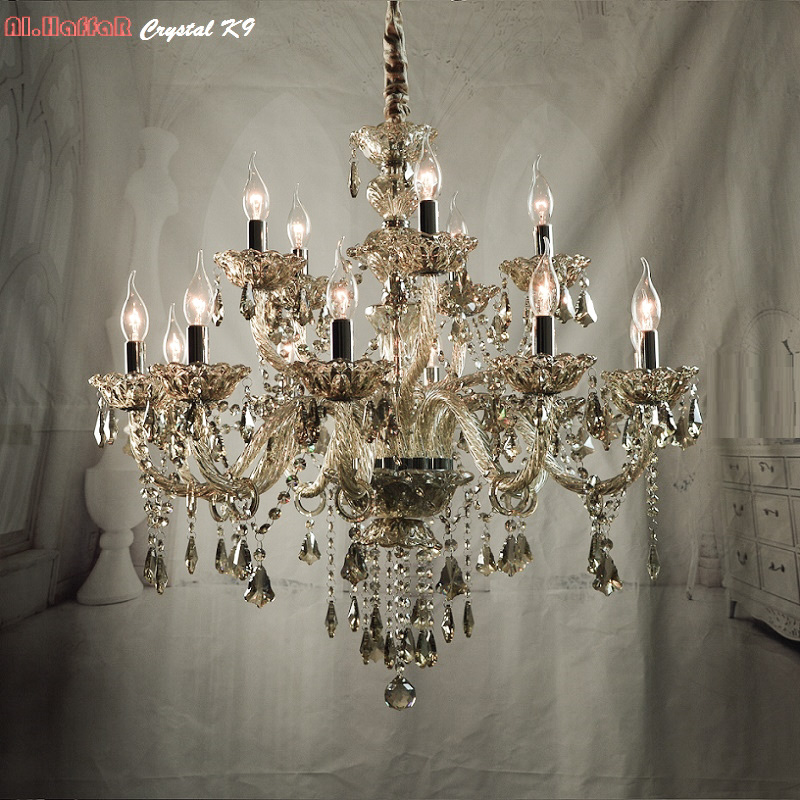 Buy chandelier modern crystal chandelier for Modern crystal chandelier for dining room