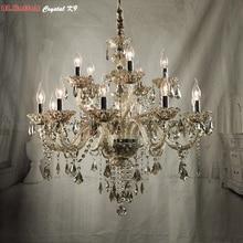 Araña Moderna araña de cristal de Luz Araña de Cristal de luz de iluminación accesorios de iluminación del dormitorio sala de estar comedor