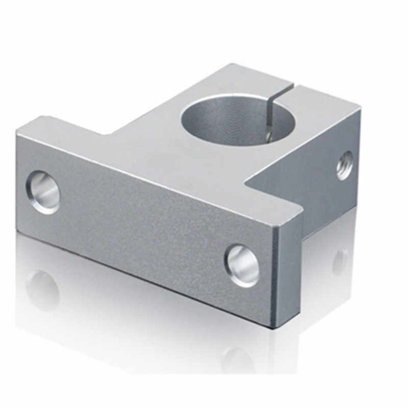 1PC SK20 SH20A 20mm linear shaft support 20mm Linear Rail Shaft Support XYZ Table CNC parts