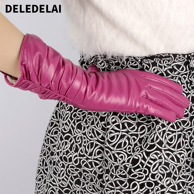 2017 new Autumn winter gloves women bucks