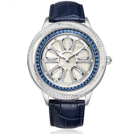 MATISSE Fashion Austria Crystal Dial Leather Watchband Big Dial Lady Women Lady Buiness Quartz Watch Wristwatch matisse dance with joy