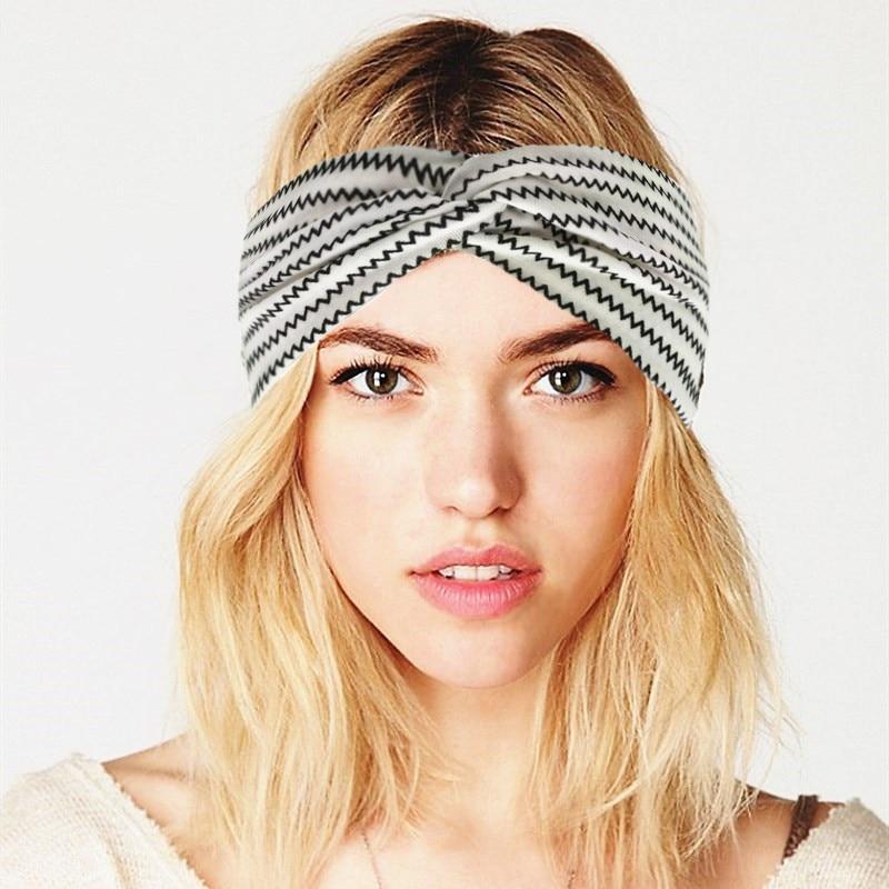 Women's Headband Yoga Hairband Twist Headbands Knot Turban Head Wrap  Outdoor Headwear Boho Bandeau Cheveux Haar Accessories Women's Hair  Accessories  - AliExpress