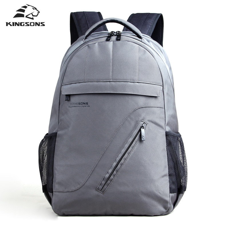 Kingsons Nylon Laptop Backpack Air Cell Bubble Camelback Men's Casual Travel School Knapsack 16.1 2017 New