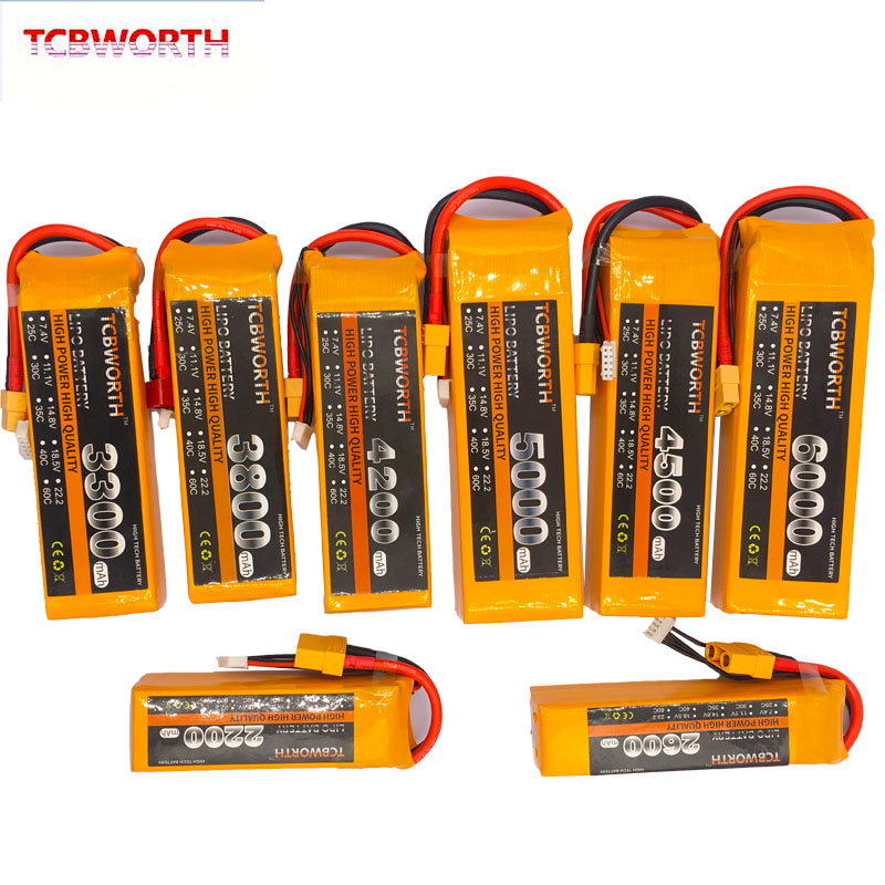 Image 3 - New Nano 4S RC LiPo Battery 14.8V 1100 1300 1500 1800 2200 2800 3300mAh 25C 35C 60C For RC Aircraft Quadrotor Car Drone Airplane-in Parts & Accessories from Toys & Hobbies