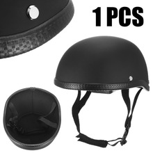 цена на Motorcycle Accessories And Parts Universal Dot Unisex Motorcycle Half Helmet Skull Hat Cap Vintage Helmet For Har-ley Chopper