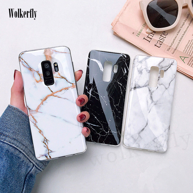 Phone Case For Samsung Galaxy S8 S9 Plus S7 S7edge Soft TPU Cover