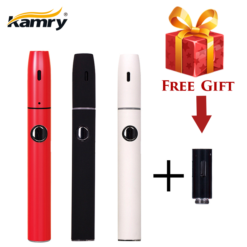 No Burn Rod Kamry Kecig 2.0 Plus improved Electronic Cigarette Heating Stick kit with 650mAh Battery for iqos Tobacco Cartridge