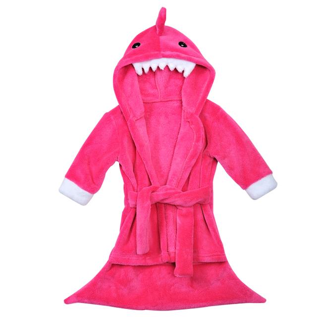 0-24 M Del Bebé ropa de Noche de Otoño del Resorte de Los niños del Traje de Pijama Casual Lindo Albornoces Homewear Del Bebé Muchachas de Los Muchachos 3D de dibujos animados Mameluco