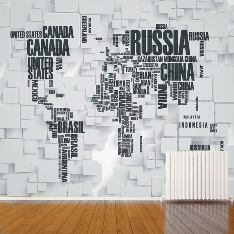 Custom mural wallpaper 3d stereoscopic brick wall world map living custom mural wallpaper 3d stereoscopic brick wall world map living room office backdrop home decoration wall art contact paper in wallpapers from home gumiabroncs Choice Image