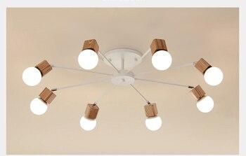 Holz Pendelleuchte   Decke Licht Lampe, Apartmet Küche Insel ...