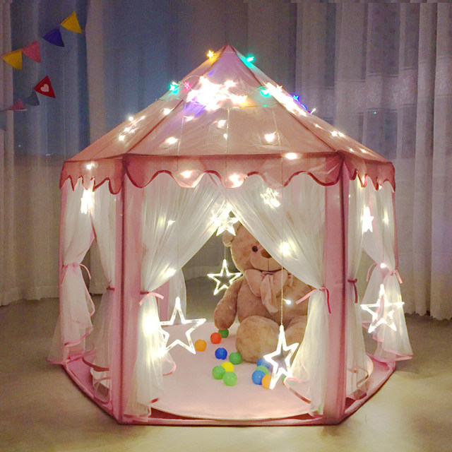 Child tent indoor princess big toy house outdoor mosquito puzzle girl oversized & Online Shop Child tent indoor princess big toy house outdoor ...