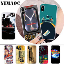 все цены на YIMAOC Future DeLorean Time Machine Soft Silicone Case for iPhone X r s Xr Xs Max 8 7 6S 6 Plus 5 5s SE онлайн