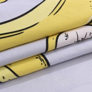 Image 5 - Banana Duvet Cover Bedding Set Bed Sheet Single Full Queen King Size 3/4PCS Bedclothes