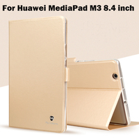High Quality PU Leather Cover For Huawei MediaPad M3 8 4 Inch Tablet TPU Protective Case