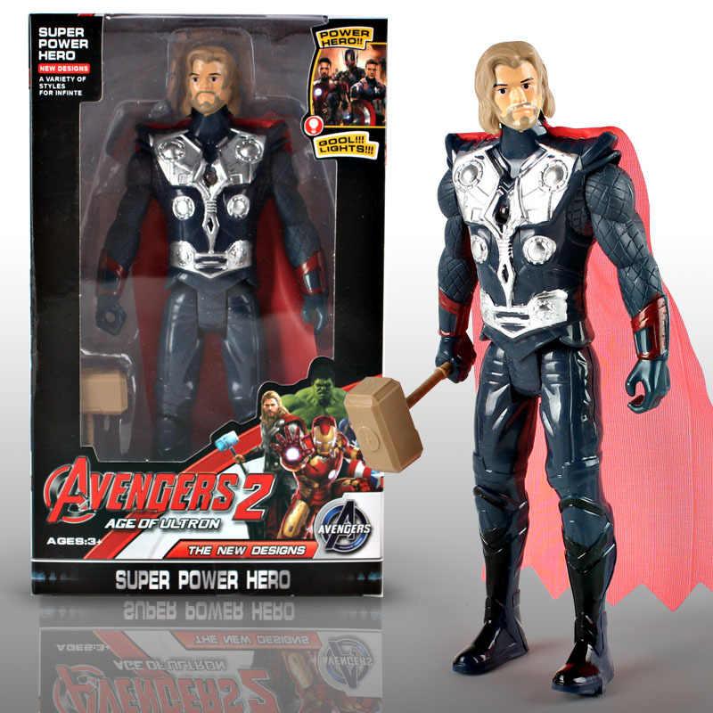 Marvel мстители супергерой Человек-паук Железный человек фигурка с розничной коробкой ПВХ брелки для ключей подарок