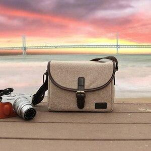 Image 2 - Foto Retro Cámara cubierta de la caja del bolso para Canon EOS 200D 77D 7D 80D 800D 1300D 6D 70D 760D 750D 700D 600D 100D 1200D 1100D SX540