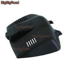BigBigRoad для Ford Mondeo 2013 высокой конфигурации фронтальная камера видео Регистраторы черный ящик приложение Управление Wi-Fi DVR регистраторы HD 1080 P