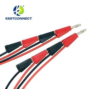 Image 2 - TL090 4mm banana plug 16AWG test leads stackable banana plug testing cable test leads
