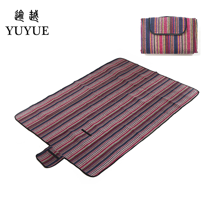 150*200cm  beach mat for tourist camping tent fishing picnic camping mat high quality folk style picnic mat camping equipment 0