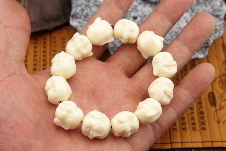 Natural Hippopotamus Tooth Bracelet Men And Women Hand String Act The Role Ofing Is Tasted S Gaultheria In Strand Bracelets From Jewelry