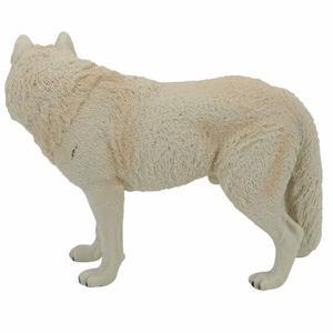 Image 5 - Büyük Kurt Heykeli Heykelcik Oyuncak PVC Yaban Hayatı Hayvan Modeli Aksiyon Figürleri Çocuklar için Playset Eğitim Koleksiyon Hediye