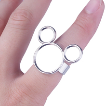 Ring-Palette Makeup Cosmetic Nail-Art-Tools Hand-Manicure