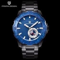 Pagani zegarek kwarcowy mężczyźni luksusowe biznes zegar ze stali nierdzewnej mężczyzna zegarek wodoodporny zegarek sportowy męski zegarek Relogio Masculino