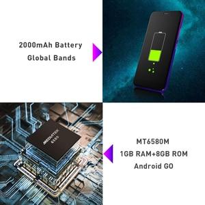 "Image 4 - LEAGOO Z10 אנדרואיד טלפון נייד 5.0 ""18:9 תצוגת 1GB RAM 8GB ROM Dual Sim MT6580M Quad Core 2000mAh 5MP המצלמה 3G Smartphone"