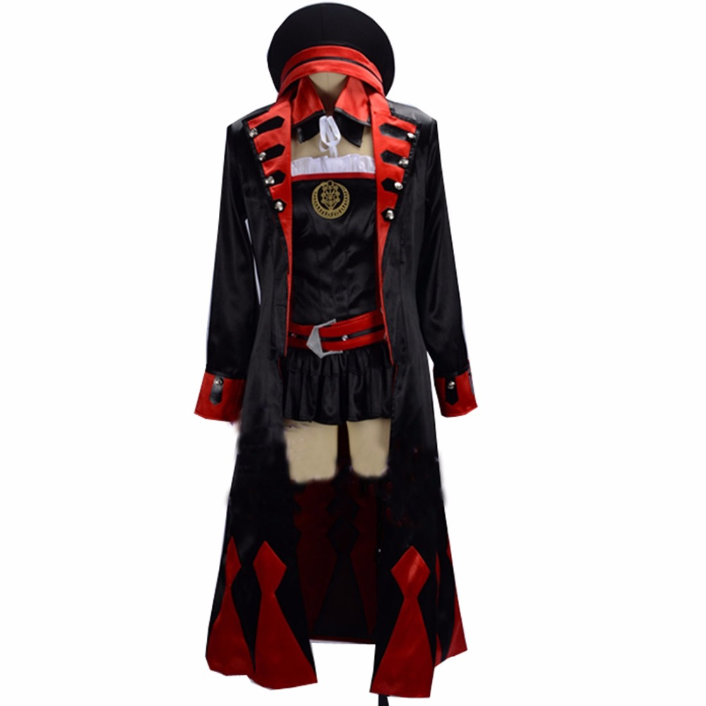 2018 New arrival Fate Grand Order Helena Blavatsky Cosplay Costume custom made includes hat