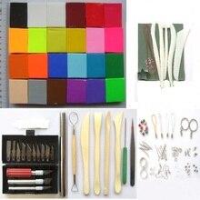Flexible Durable Полимерная глина Polymer Clay Handwerk Material Kinder Kneadable Spielzeug Künstler Schmuck Modellierung Ton Formen Es