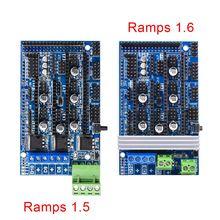Bigtreetech платформы 1.6 платформы 1.5 обновления База на пандусы 1.4 3D Управление Панель плата RepRap Мендель для 3D принтер части