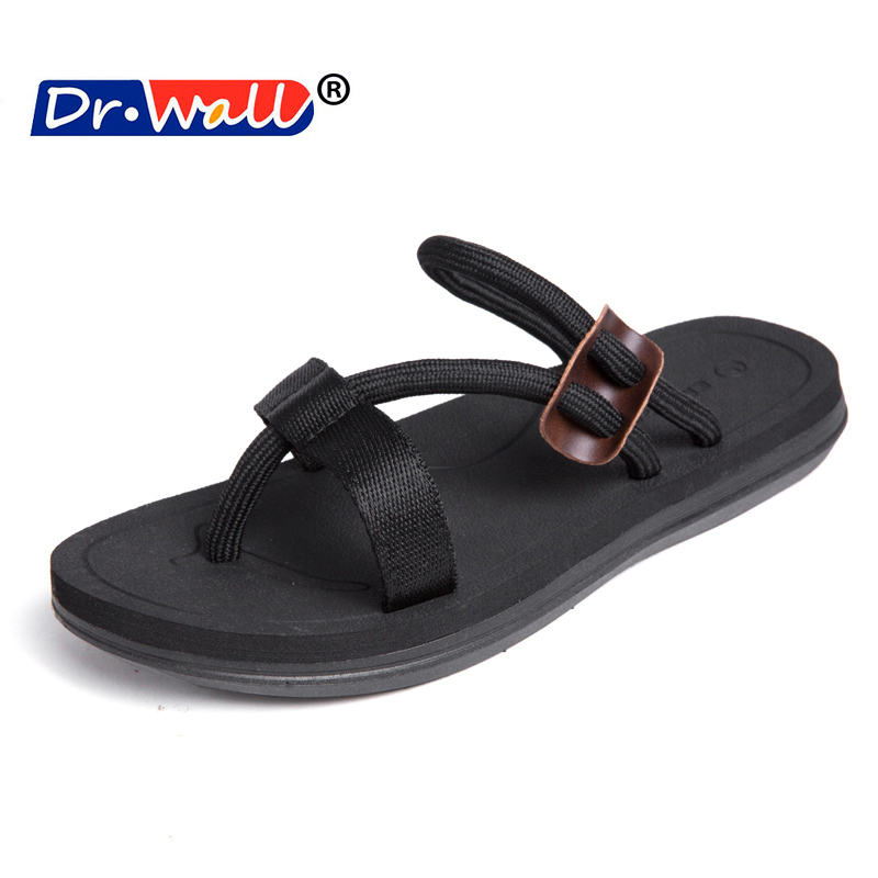 New 2018 Men Flip-flops Beach Comfortable Men Sandals Fashion - Men's Shoes - Photo 1