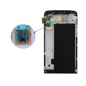 Image 2 - Exibição Para LG G5 LCD Tela de Toque com Digitador Quadro Para LG Display LCD Tela De Substituição Para LG G5 G5 5.3 H850 AAA