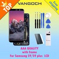 100% Оригинальные Super Amoled ЖК дисплей Экран для samsung Galaxy S9 S9 плюс S9 + Дисплей G9650 с заменой Ассамблея Рамка и бесплатный подарок