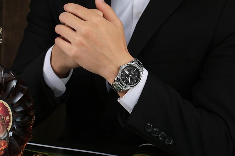 dwaterproof água relógio automático men relogio masculino