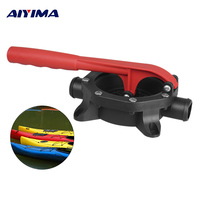 Aiyima 1Pc Hand Bilge Water Pump 0V DC D720GPH Aluminium Handle Plastic Marine Boat Manual Bilge Diaphragm Saltwater Diesel Bar