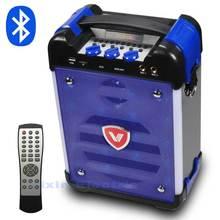 K6 High Power HiFi Tragbare Bluetooth-lautsprecher Subwoofer Unterstützt USB Festplatten Und Mikrofon Hat FM Radio LED Laterne Spalte