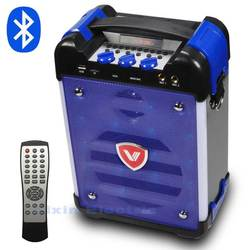 K6 High Power HiFi Portable Bluetooth Speaker Subwoofer Supports USB Disks And Microphone Has FM Radio LED Lantern Column