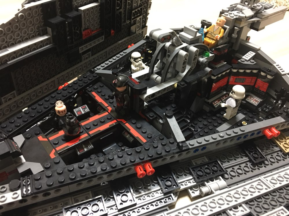 Building bricks 05131 1585PCS Star Plan Wars First Order Star Destroyer Building Blocks Bricks Toys for children 75190
