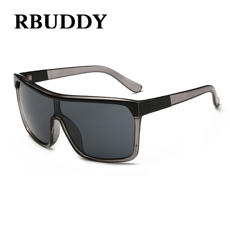 3f706f676397 RBUDDY Steampunk goggles Sunglasses Square Flat Top Sun Glasses Men Male Hip  Hop Cool Oversize oculos