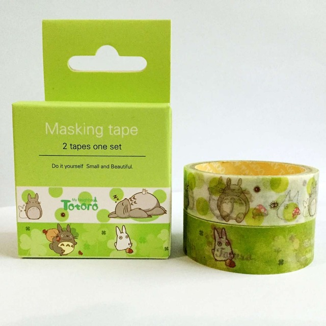 Totoro Adhesive Decorative Tape