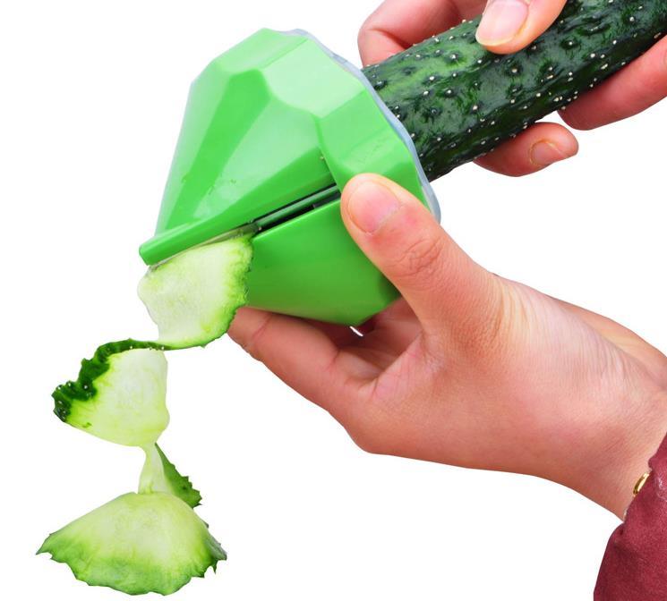 Kitchen Fruit Vegetable Tools ABS vegetables shred cucumber carrot salad grater shredder tool 2pcs/set free shipping