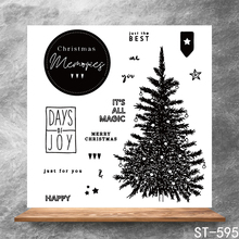 Lush leaves Transparent Clear Stamps DIY Scrapbooking Album Card Making Decoration Embossing Stencil