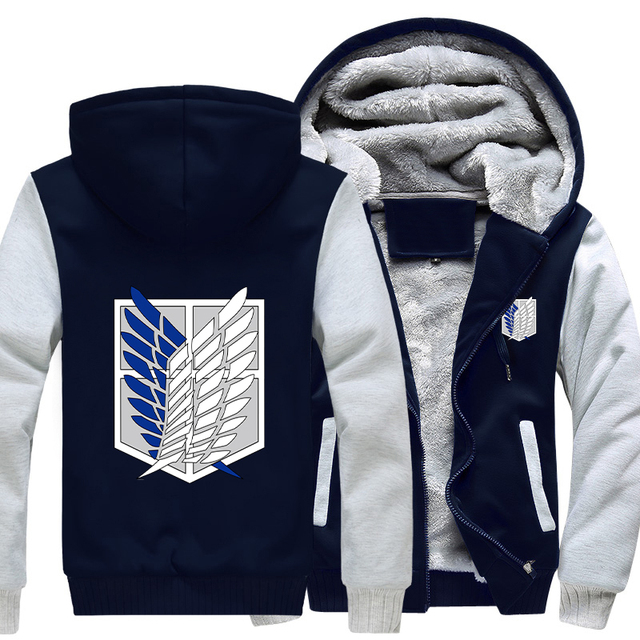 Attack on Titan Legion Coat Thick Hoodie
