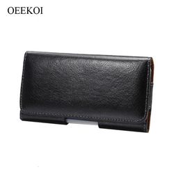 На Алиэкспресс купить чехол для смартфона oeekoi genuine leather belt clip pouch cover case for blackberry key2/motion/aurora/keyone/dtek60/priv/leap/dtek50/z30/z3/z10