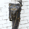 Thigh Holster Protected Purse Shoulder Purse leather women bag carteras mujer bag Steampunk bag thigh Motor leg Outlaw Pack