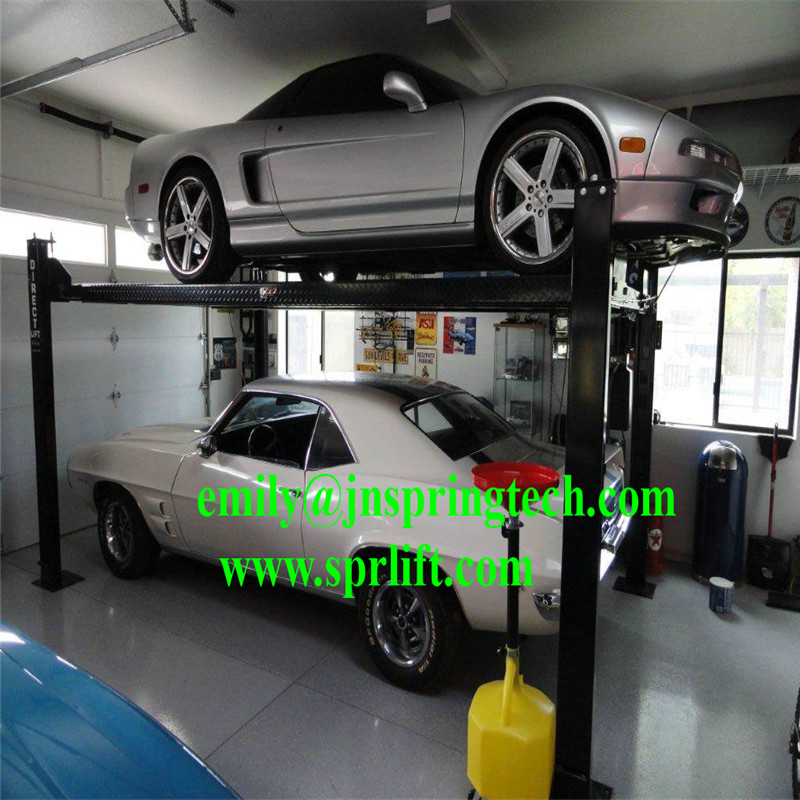 New Designed Safe Electric Garage Lift Storage System 4 Post Home Car 2017 In Jacks From Automobiles Motorcycles On Aliexpress